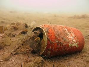 Limpieza de fondos marinos