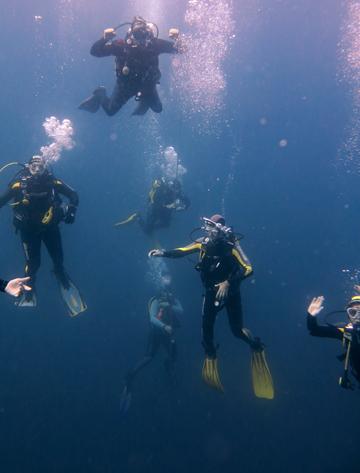 submarinismo. nace la aventura