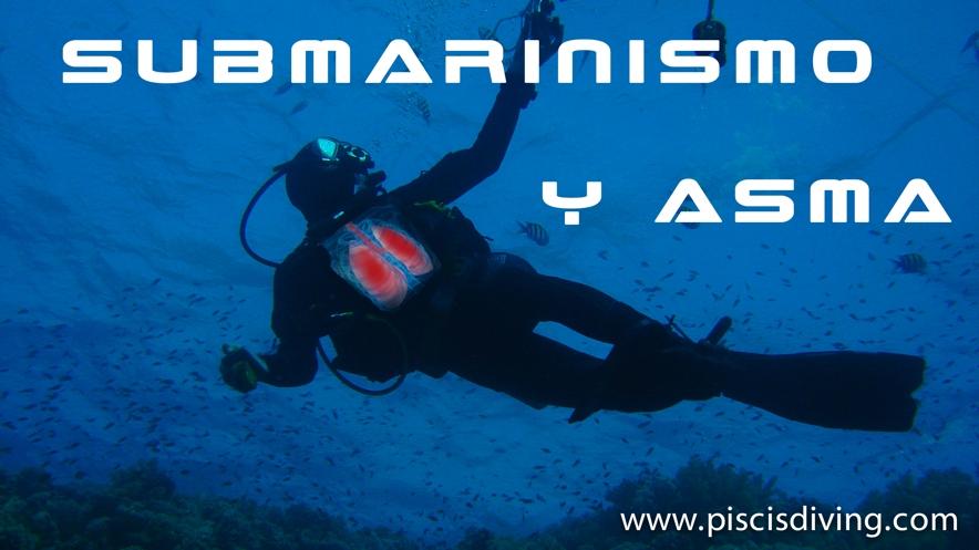 Submarinismo y asma